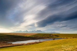 Vrbovský rybník a Tatry