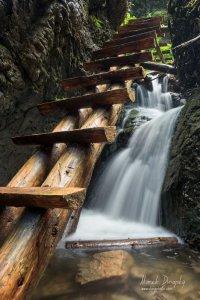 Vodopád v Róthovej rokline
