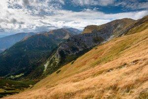 Západné Tatry z červených vrchov