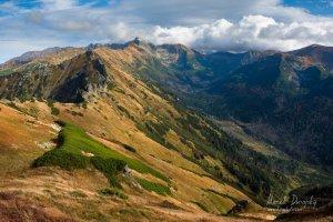 Vysoké Tatry z Červených vrchov