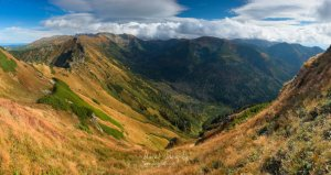 Panoráma Tatier z Červených vrchov