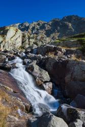 Kaskády nad vodopádom Skok