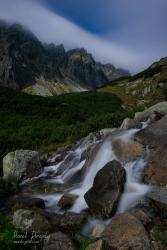 V Mengusovskej doline za Mesačného svitu