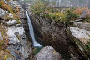 Obrovský vodopád v Malej Studenej doline