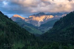Tatry z Tatranskej Javoriny