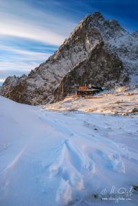 Zimne ráno pri Téryho chate