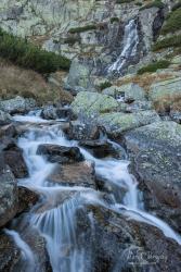 Vodopád Skok v Mlynickej doline
