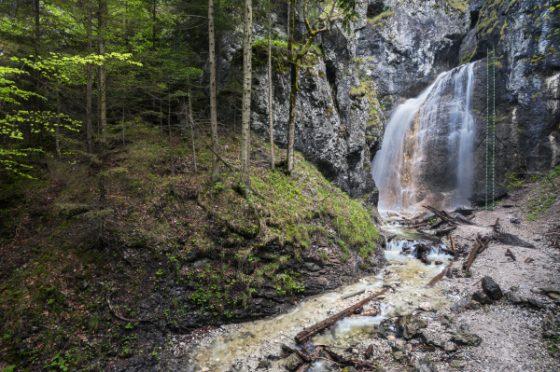 Fotenie v roklinách Slovenského raja