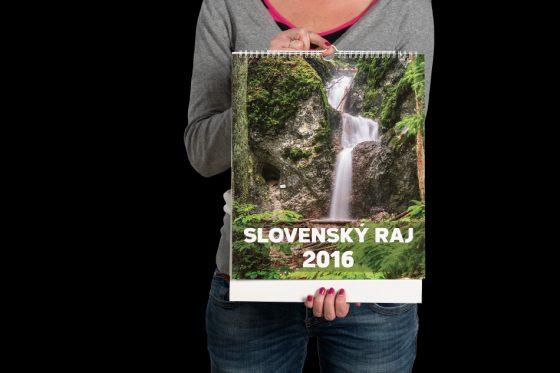 Nástenný kalendár Slovenský raj 2016