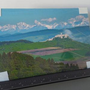 Fotka na plátne 40x60cm, Spišský hrad