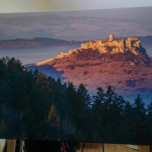 Fotka na plátne 55x80cm, Spišský hrad
