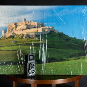 Fotka na plátne 60x90cm, Spišský hrad