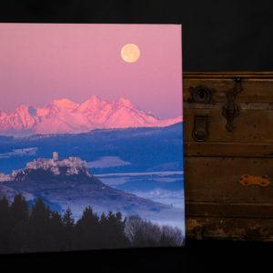 Fotka na plátne 80x80cm, Spišský hrad